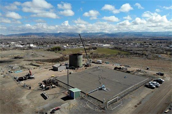 Work Progressing On Sunset Mesa Water Storage Project