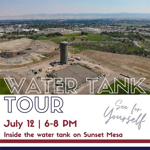 Public Invited To Tour New Sunset Mesa Water Tank