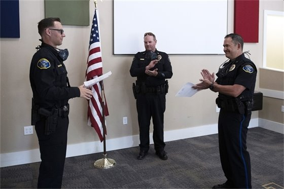 Montrose Police Department Welcomes Five New Officers