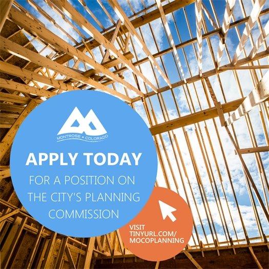 City Seeking Planning Commission Applicants