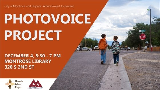 City, Hispanic Affairs Project to Present Photovoice Project