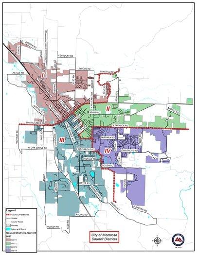 City of Montrose Announces 2020 Municipal Election