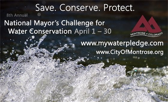 8th National Mayor's Challenge for Water Conservation, April 1 – 30