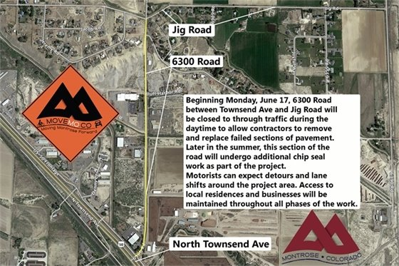 6300 Road Work To Begin June 17