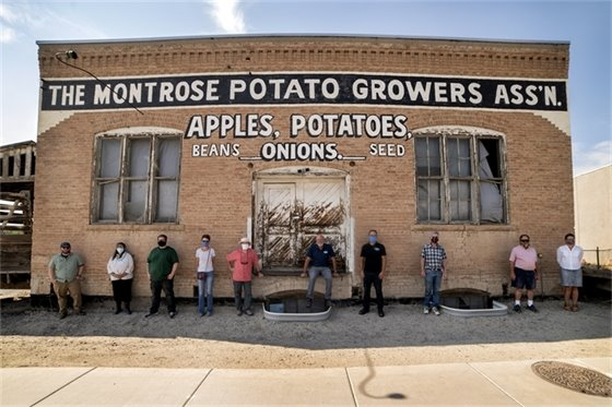 Potato Growers Building Earns Listing on Both State And National Historic Registries