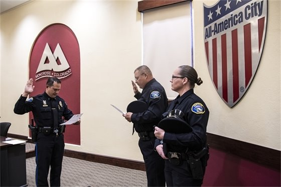 Montrose Police Department Welcomes Two New Officers