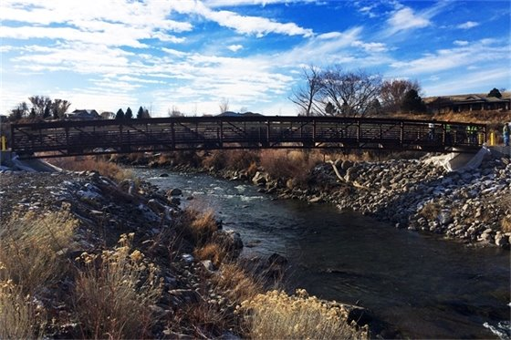 New Bridge Spanning Uncompahgre River Now Open