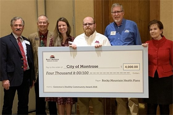 City Earns 2018 Governor's Healthy Community Award