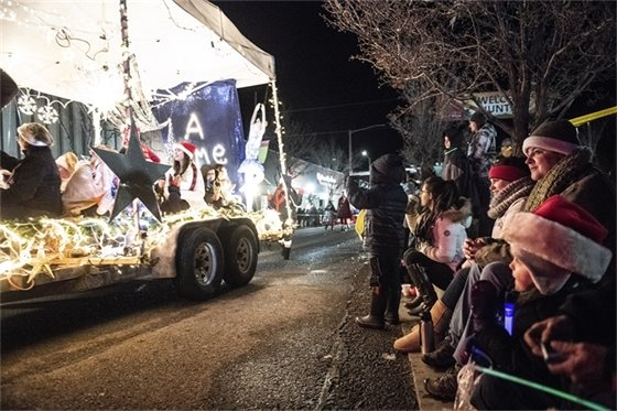 """Over 60 floats participated in this year's parade organized around the theme """"Illuminate."""""""