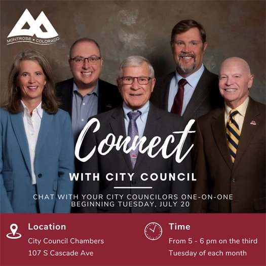 Connect With City Council To Begin July 20