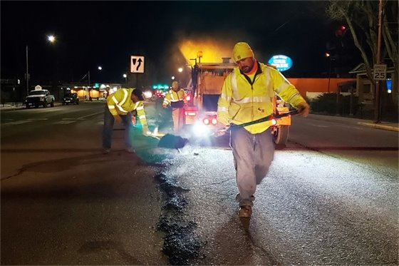 City Crews Press the Accelerator on Pothole Repair Efforts