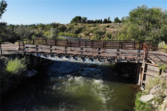 Public Invited to View Uncompahgre River Pedestrian Bridge Placement