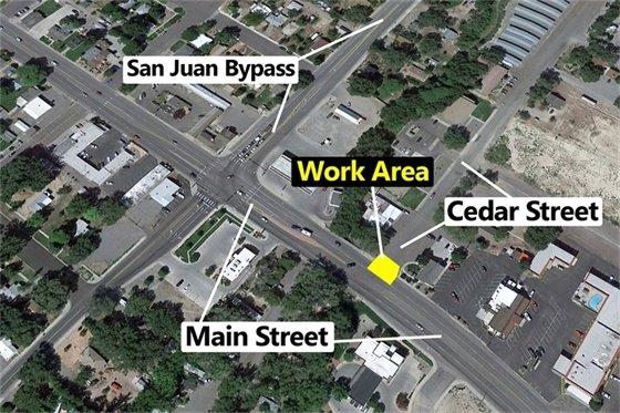 Waterline Break Impacts Traffic On Main Street