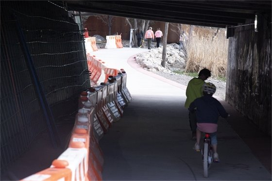 West Main Trail Underpass To Close For Improvements