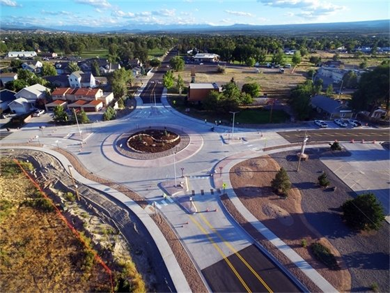 City of Montrose Opens Roundabout at Miami and Hillcrest