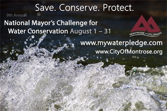 9th Annual National Mayor's Challenge for Water Conservation, August 1-31