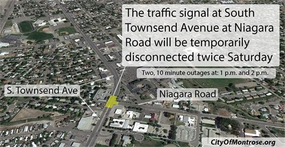 Townsend Traffic Signal To Be Disconnected Twice Saturday
