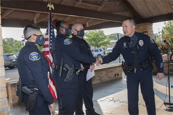 Montrose Police Department Welcomes Three New Officers