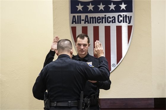 Montrose Police Department Welcomes Four New Officers