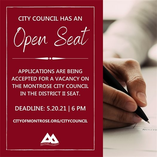 Applications Sought For City Council Vacancy