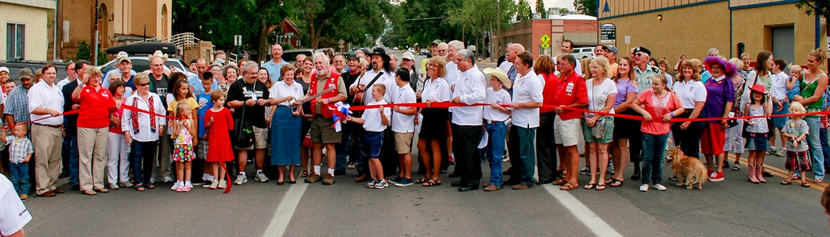 Montrose residents celebrate ribbon-cutting for All America City designation