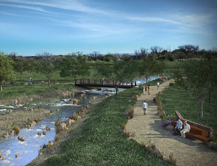 MURA Open Space Rendering