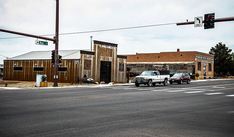 Revitalized buildings within Brownfields Grant area