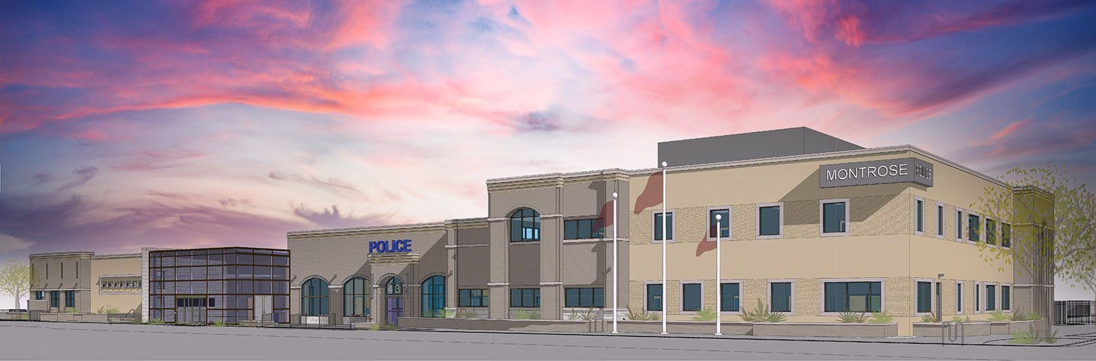 Rendering of Public Safety Complex