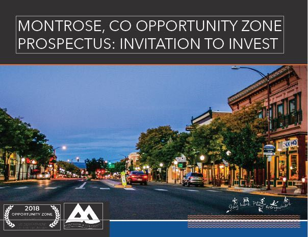 Montrose Opportunity Zone Prospectus Cover Opens in new window